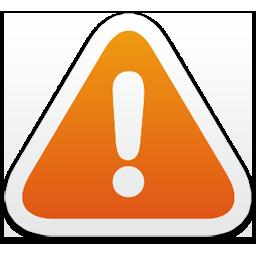 Atención/ Warning