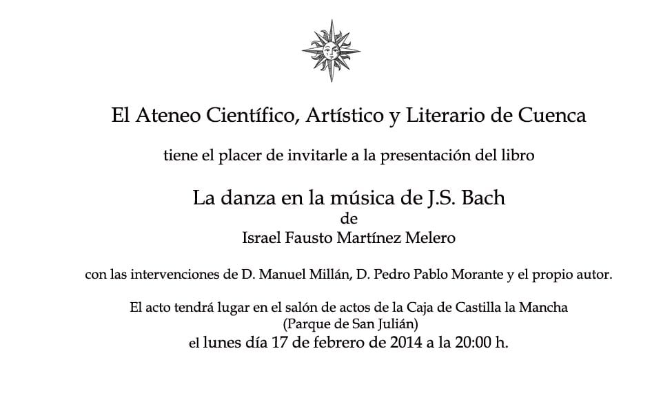 Invitacion Libro
