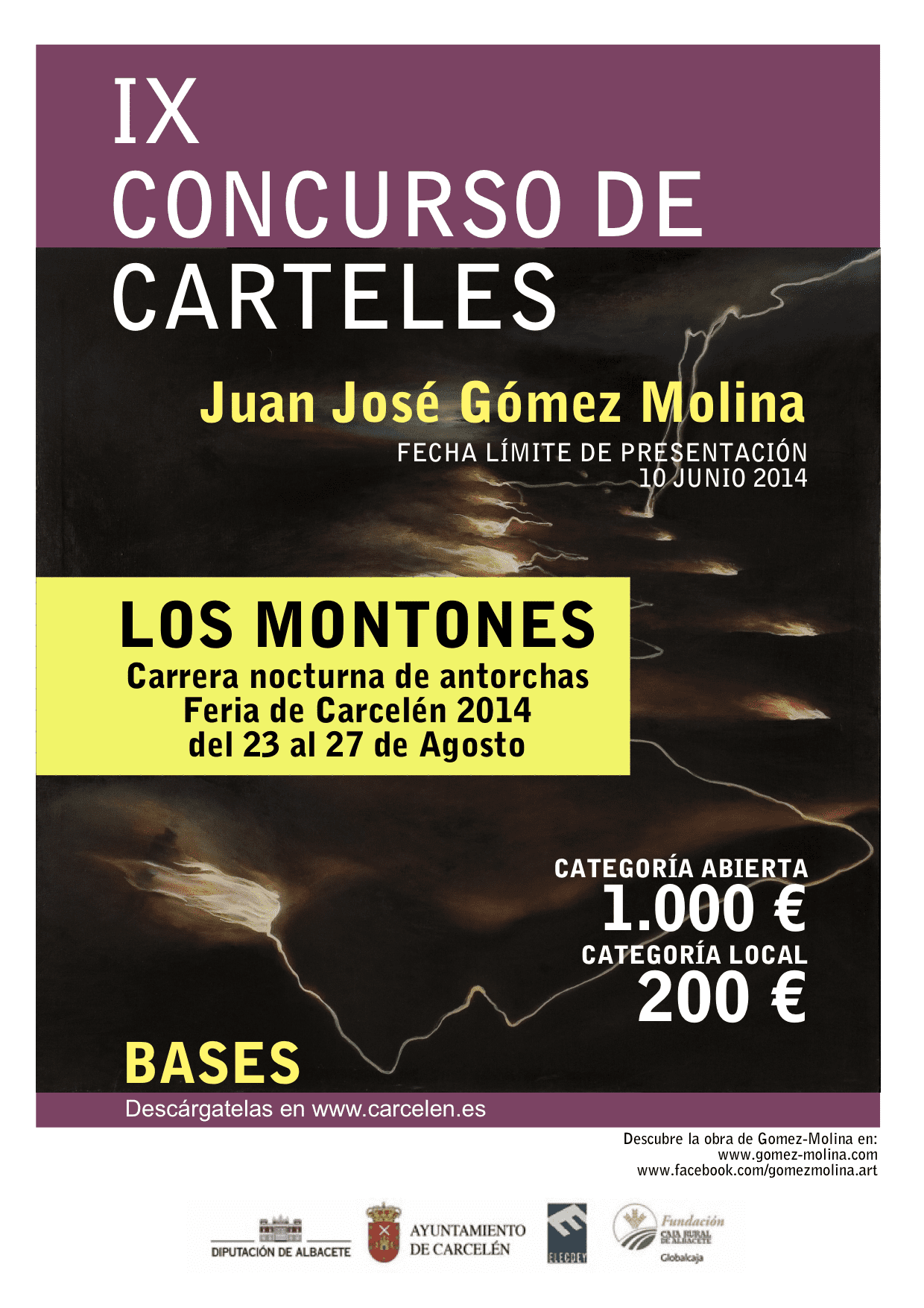 CARTEL CONCURSO JJGM2014