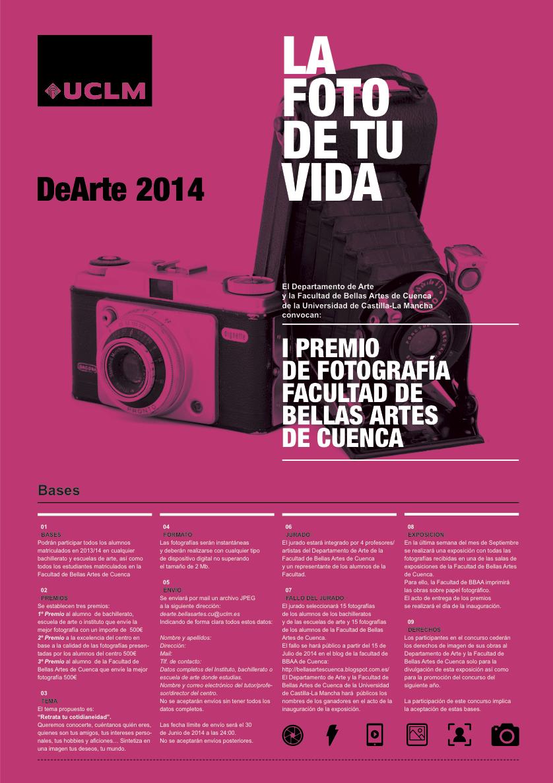Bases Concurso Fotografía BBAA Cuenca 2014