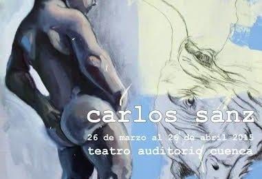 Carlos Sanz Hidalgo, antiguo alumno de la Facultad, expone 'Algunas Pinturas' en el Teatro-Auditorio de Cuenca (Días de Arte Conquense)