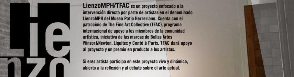 'LienzoMPH/TFAC' un proyecto para intervenir el 'lienzo' del Museo del Patio Herreriano