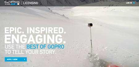 GoPro lanza su plataforma para que puedas vender tus vídeos