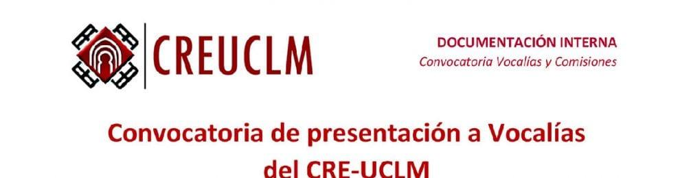 Convocatoria de presentación a Vocalías del CRE-UCLM