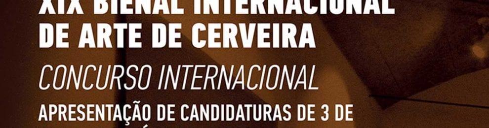 XIX Bienal Internacional de Arte de Cerveira, Portugal