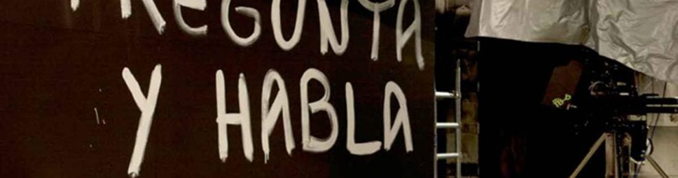 Taller de artista, 'Pregunta y Habla', de Cabello/Carceller