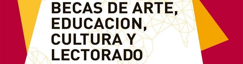 Becas MAEC-AECID de Arte, Educación y Cultura 2017/18