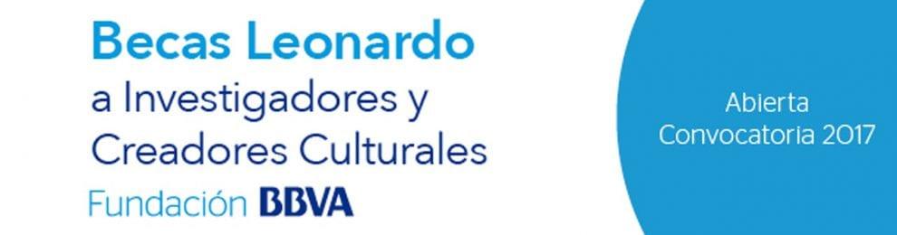 Becas Leonardo a Investigadores y Creadores Culturales 2017, Fundación BBVA