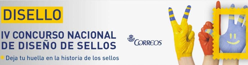 IV CONCURSO NACIONAL DE DISEÑO DE SELLOS 'DISELLO' DE CORREOS.