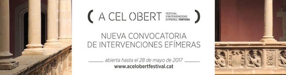 'A Cel Obert 2017' Concurso en Tortosa, Tarragona, España