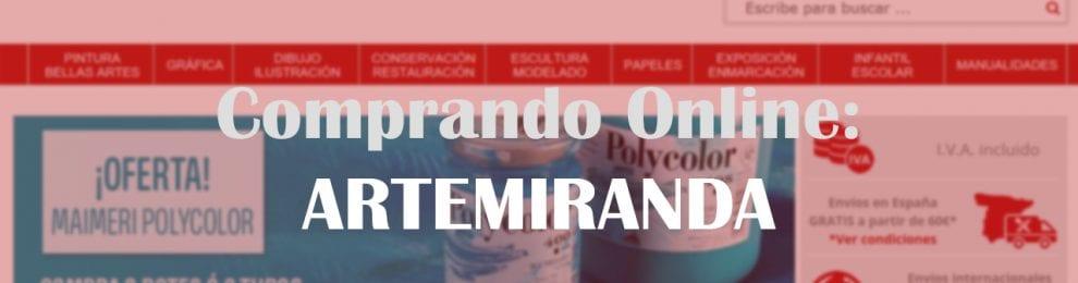 Comprando Online: ARTEMIRANDA