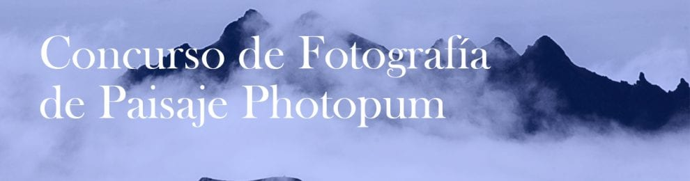 Concurso de Fotografía de Paisaje PHOTOPUM