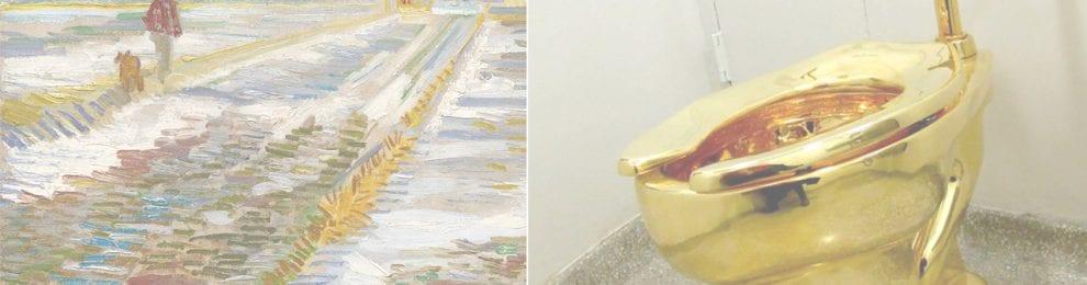 El Guggenheim ofrece un retrete de oro macizo para los Trump