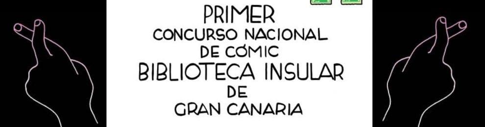 Concurso nacional de cómic Biblioteca insular de Gran Canaria
