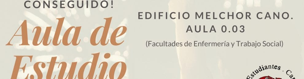APERTURA DE AULA DE ESTUDIOS 24 H. UCLM Cuenca