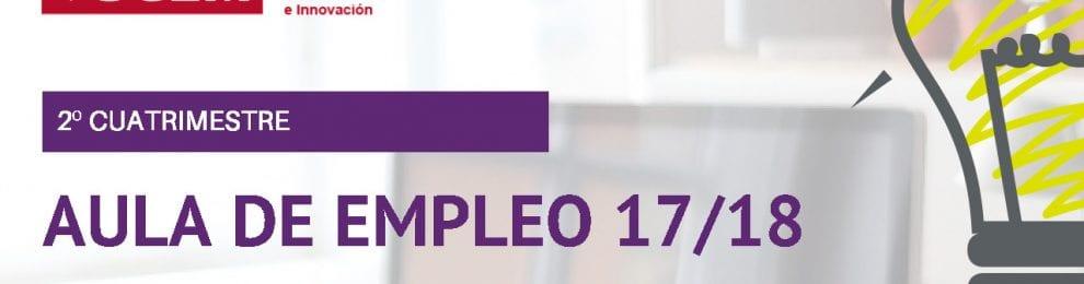 Aula de empleo 17/18 –2º cuatrimestre, Campus de Cuenca