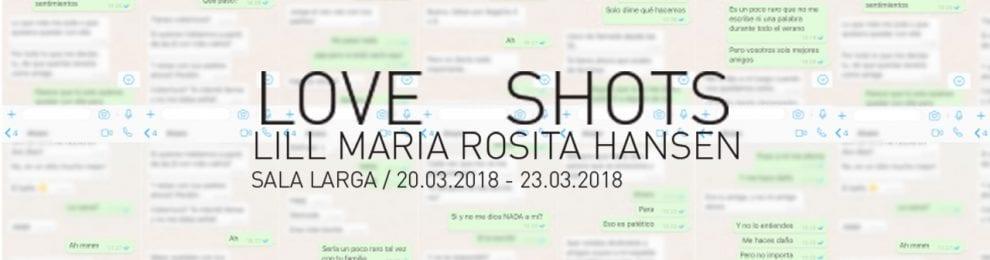 Exposición Love Shots. Lill Maria Rosita Hansen.