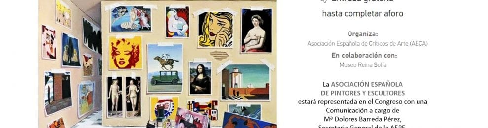 """Congreso de la Asociación Española de Críticos de Arte. """"Crítica de arte: crisis y renovación""""."""